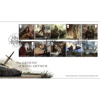View more details about The Legend of King Arthur Souvenir Stamp Cover