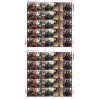 View more details about 1st Class Stamps x 50 (Postage Stamp Sheet) – Legend of King Arthur