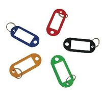 Q-Connect Assorted Key Fobs, Pack of 100 - KF10869