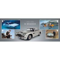 The James Bond Miniature Sheet