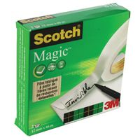 Scotch 12mm x 66m Magic Tapes, Pack of 2 - 810