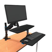 View more details about Kensington Sit Stand Workstation - K55792WW