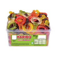 View more details about Haribo Giant Suckers Tub (60 Sweets) - 13544