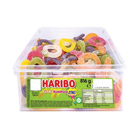 View more details about Haribo Giant Sour Suckers Tub (60 Sweets) - 13444