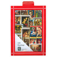 Paintings Stamps Collection, 100 Stamps - R3662