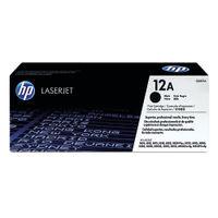 HP 12A Black Toner Cartridge - Q2612A