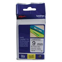 Brother TZe-221 Black 9mm P-Touch Label Tape TZe221