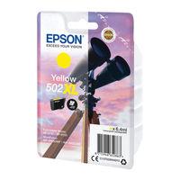 Epson Singlepack 502XL Yellow Ink Cartridge - C13T02W44010