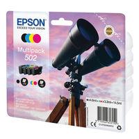 Epson Multipack 502 Ink Cartridges 4 Colours - C13T02V64010