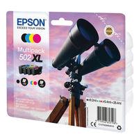 Epson Multipack 502XL Ink Cartridges 4 Colours - C13T02W64010