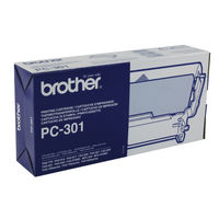Brother PC-301 Fax Toner Cartridge and Refill Ribbon - PC301