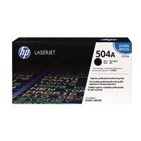View more details about HP 504A Black Laserjet Toner Cartridge CE250A
