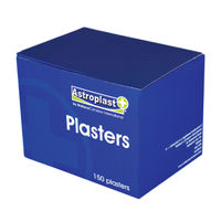 Wallace Cameron Blue Assorted Detectable Plasters, Pack of 150 - 1214037