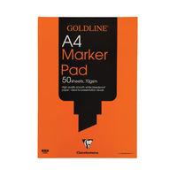 Goldline A4 Bleedproof Paper Pad - GPB1A4
