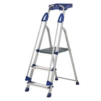 View more details about Werner Blue Seal 3 Tread Professional Aluminium Step Ladder 7050318