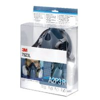 View more details about 3M Half Mask and Filter Kit 7523L