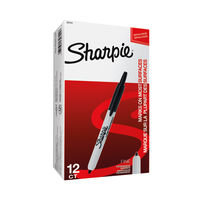 Sharpie Retractable Fine Tip Marker Black   S0751460