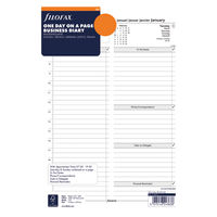 View more details about Filofax Refill Day Per Page A4 2021 21-68719