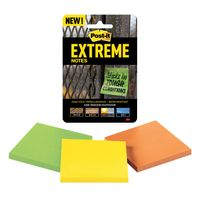 Post-it Assorted Extreme Notes, Pack of 3
