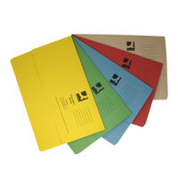 Q-Connect Foolscap Assorted Document Wallets, Pack of 50 - KF01490