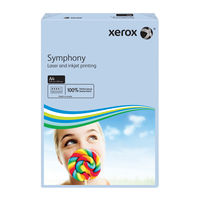 Xerox Symphony Pastel Blue A4 Paper, 80gsm - 500 Sheets -  003R93967