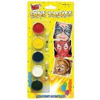 Tallon Face Paints, 5 Colours, Pack of 12 - 5111