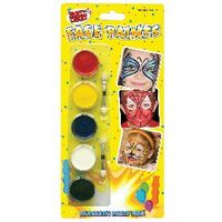 View more details about Tallon Face Paints, 5 Colours, Pack of 12 - 5111