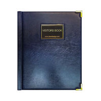 View more details about Identibadge Black GDPR Visitor Book with Binder - IBVB-GDPR
