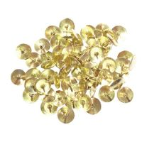 Brass 11mm Drawing Pins, Pack of 1000 - WS26320