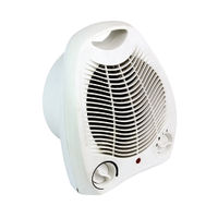 View more details about Fan Heater Upright 2kW White HID52553