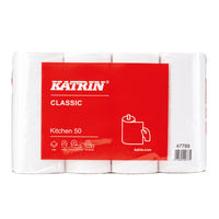 Katrin Classic 50 Sheet Kitchen Roll, Pack of 32 - 47789