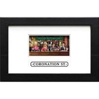 View more details about The Coronation Street Framed Miniature Sheet