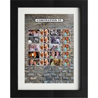 Coronation Street Framed Collectors Sheet