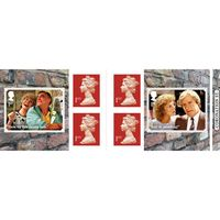 1st Class Stamps x 6 Pack - (Postage Stamp Book) - Coronation Street