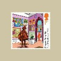 The Royal Academy of Arts Stamp Cards - AQ263