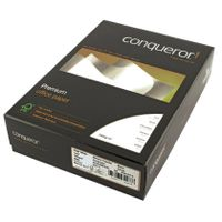 View more details about Conqueror Paper Laid High A4 White 100gsm Ream (Pack of 500) CQP0324HWNW