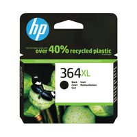 View more details about HP 364 XL Black Ink Cartridge - High Capacity CN684EE