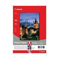 Canon 200 x 250mm White Semi-Gloss Photo Paper, 260gsm - 20 Sheets - CO40535