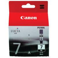 View more details about Canon PGI-7BK Black Inkjet Cartridge 2444B001