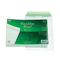 View more details about Basildon Bond C5 Peel and Seal Pocket Envelopes 120gsm, Pack of 50 - JDB80277