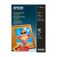View more details about Epson White A4 Glossy Photo Paper, 200gsm - 20 Sheets - C13S042538