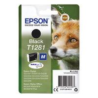Epson T1281 Black Ink Cartridge - C13T12814012
