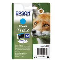 Epson T1282 Cyan Ink Cartridge - C13T12824012