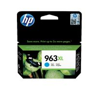 View more details about HP 963XL Cyan Ink Cartridge - High Capacity 3JA27AE