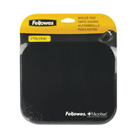 View more details about Fellowes Microban Antibacterial Mouse Mat Black 5933905