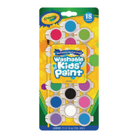 View more details about Crayola Washable Kids Poster Paints (Pack of 108) 54-0125