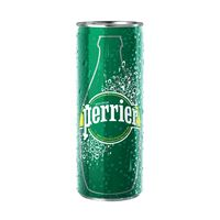 Perrier 250ml Sparkling Water Slim Cans, Pack of 35 - 12336215