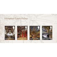 Hampton Court Palace Miniature Sheet - MZ131
