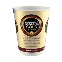 View more details about Nescafe and Go Gold Blend Black Coffee Cups - Pack of 8 - 12033810