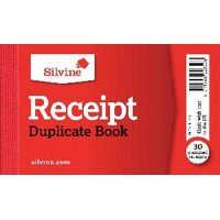 Silvine Carbon Cash Receipt Duplicate Book (Pack of 36) - 228